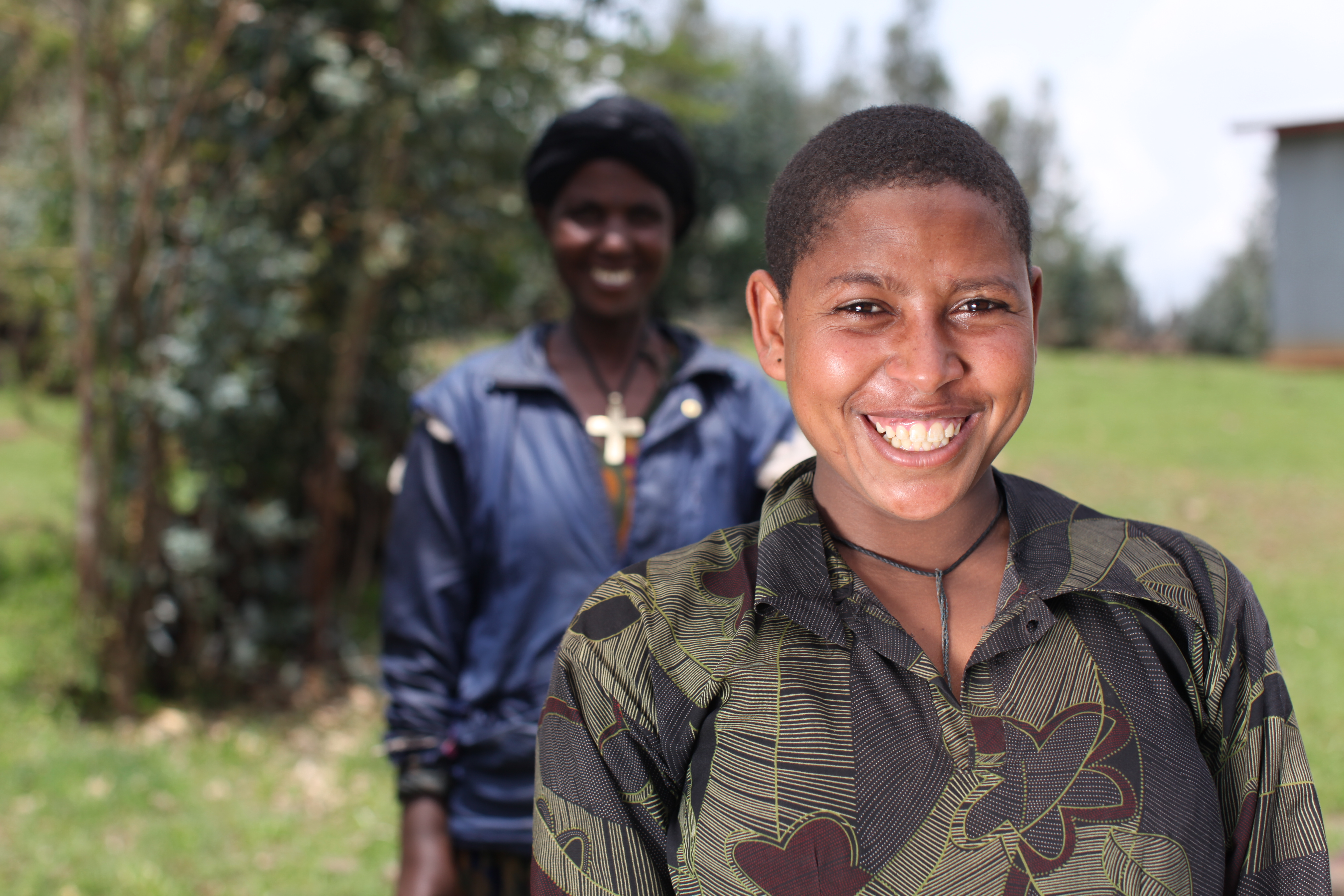 Eleni and her mother, now a vocal opponent of child marriage. ©Josh Estey/CARE