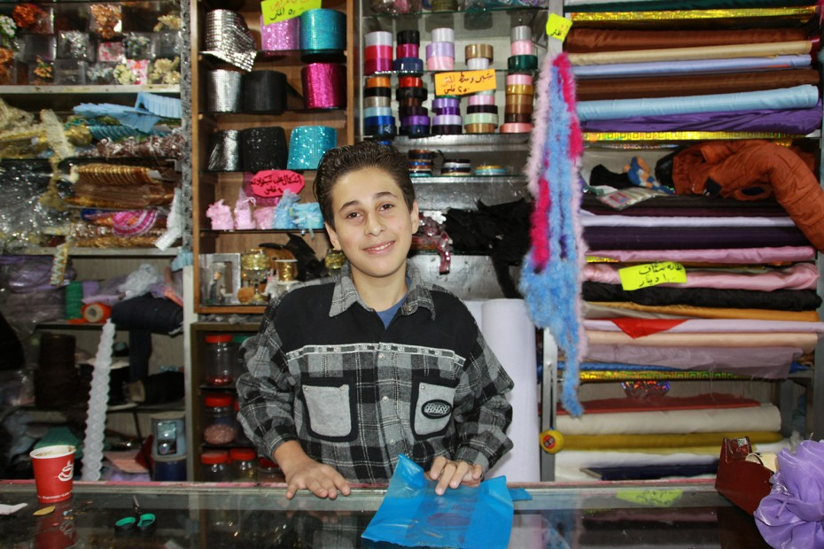Syrian refugee in Jordan