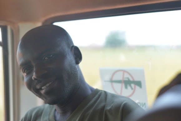 Isaac Ibrahim a CARE-employed nurse at Pariang Hospital South Sudan