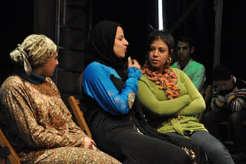 After participating in CARE's interactive theatre, Rasha overcame feelings of oppression and inferiority. Now she feels free to express her opinions. ©CARE
