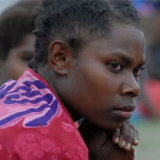 Woman in Vanuatu