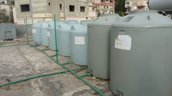 CARE water tanks