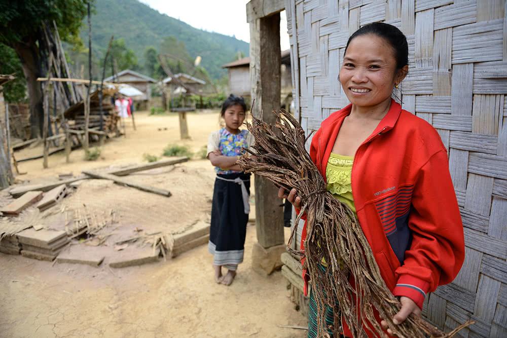 Remote ethnic women