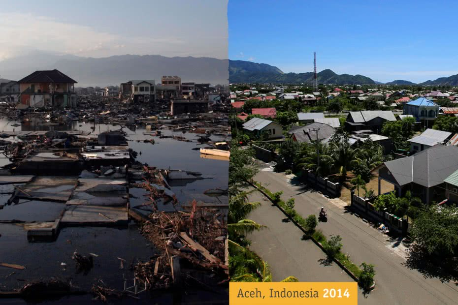Aceh 2005 and 2014