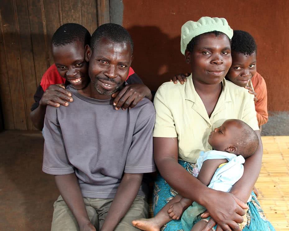 A Malawi family