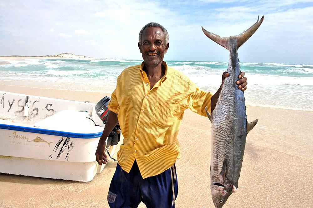 Man in Somalia