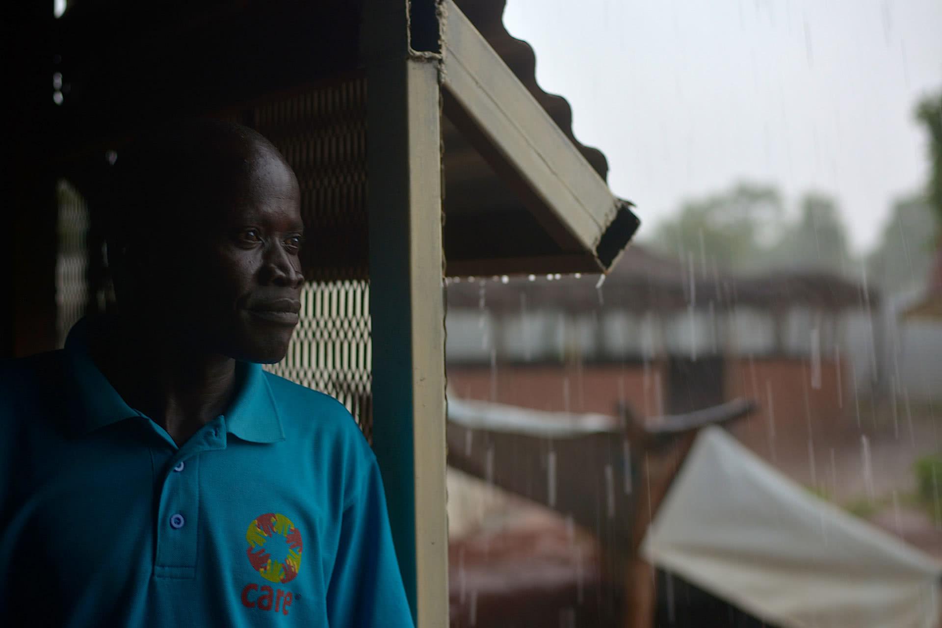 CARE South Sudan's Mogga Alex Simon contemplates South Sudan's future..