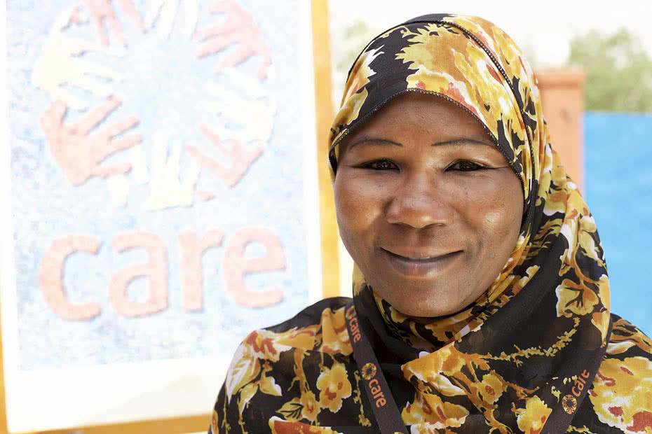 CARE Niger's gender in emergencies expert Fatouma Zara Soumana