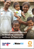 CARE's report on enhancing community resilience in Timor Leste.
