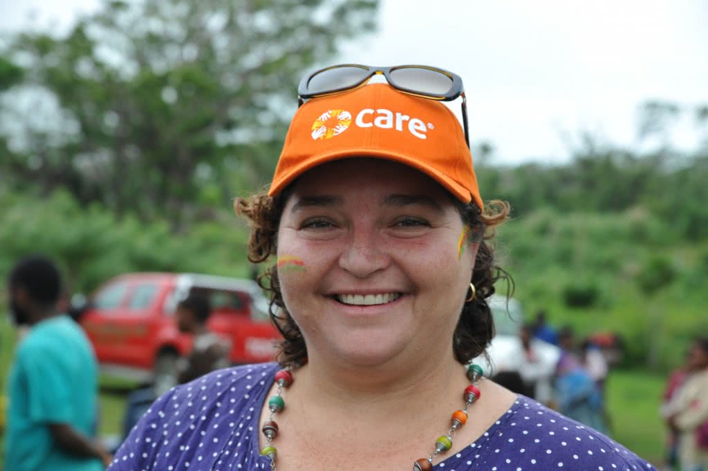 Program Director for CARE Vanuatu, Inga Mepham.