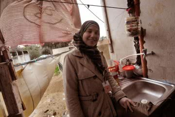 CARE's International's Maryah Damlaj works with Syrian refugees in Lebanon.