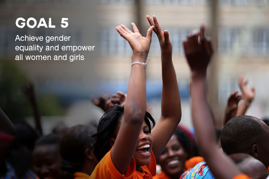 World leaders have committed to a standalone gender equality goal.