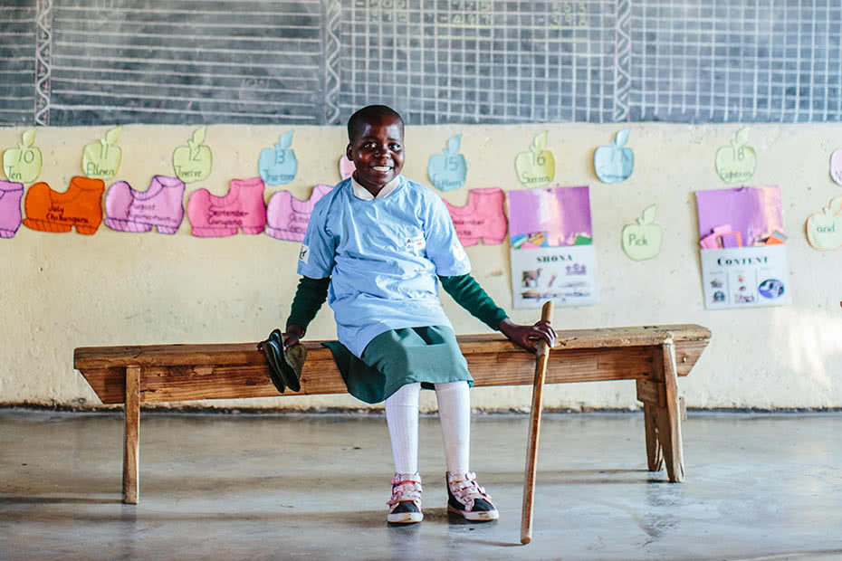 Earlier this year, Thankyou visited water, sanitation and hygiene projects in Zimbabwe which they help fund.