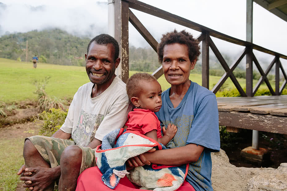 CARE is training Village Birth Attendants to reduce maternal mortality in Papua New Guinea