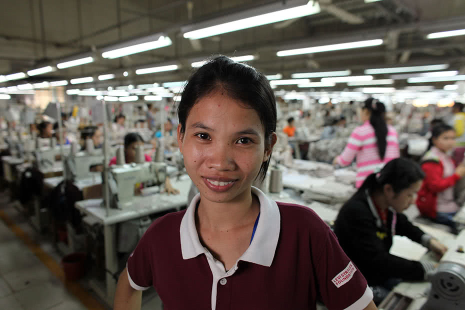 Garment factory workers in Cambodia are being provided with life skills including information around contraception options.