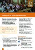 Ethnic Minority Women's Empowerment_cover_page