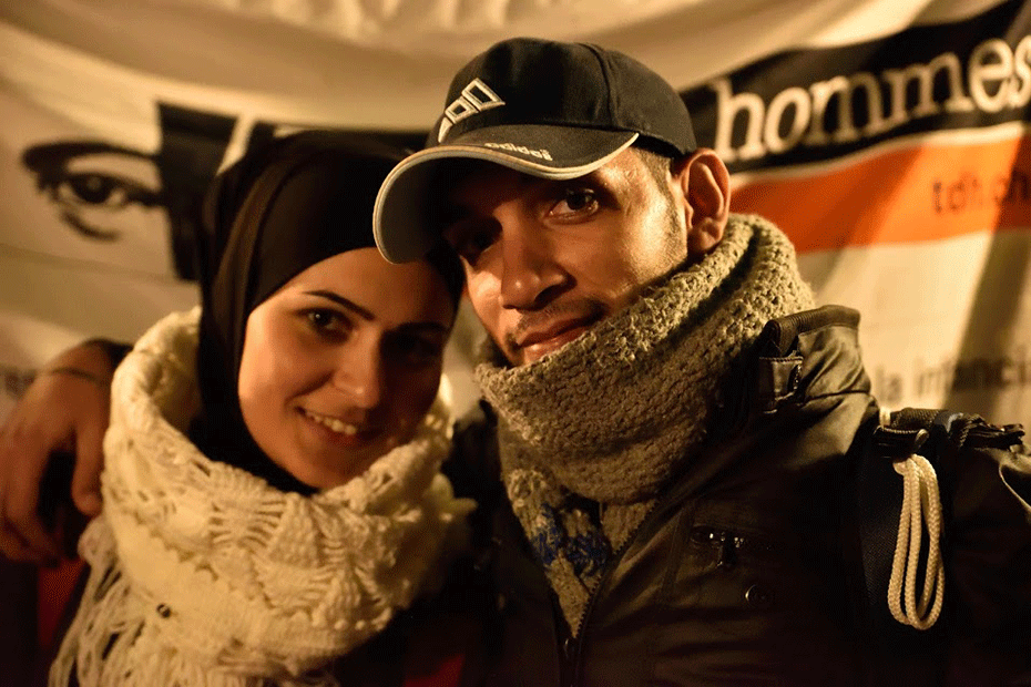Noor and Amfiraz are refugees from Syria.