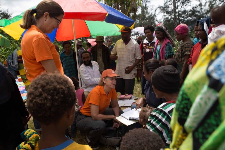 CARE's El Nino Crisis Response – Papua New Guinea