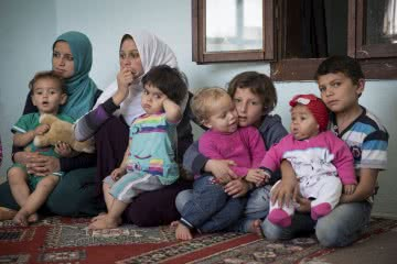Syrian refugee families in Turkey, telling their harrowing stories of leaving their home country to protect their children. You can help Syrian Refugee families by donating to CARE's Syrian Refugee Crisis Appeal at: www.care.org.au/syria today. Photo credit: Ella Pellegrini/News Corp