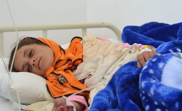 CARE's cholera response to cholera in Amran, Yemen.