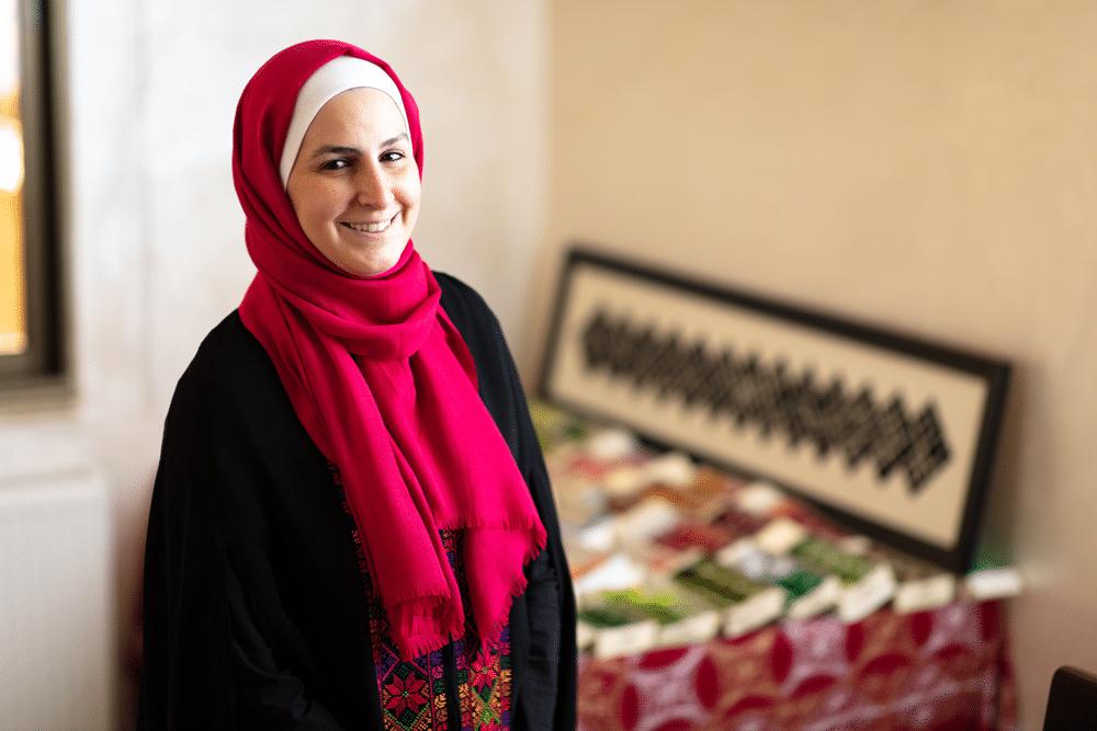 Basma women entrepreneur Jordan - CARE Australia
