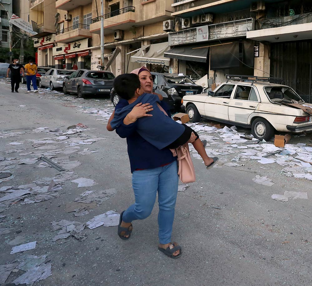 CARE Australia Emergency Response - Donate to help people affected by the Beirut, Lebanon explosion