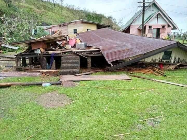 Cyclone Yasa Fiji destruction