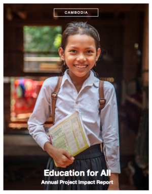 Cambodia - Education for all